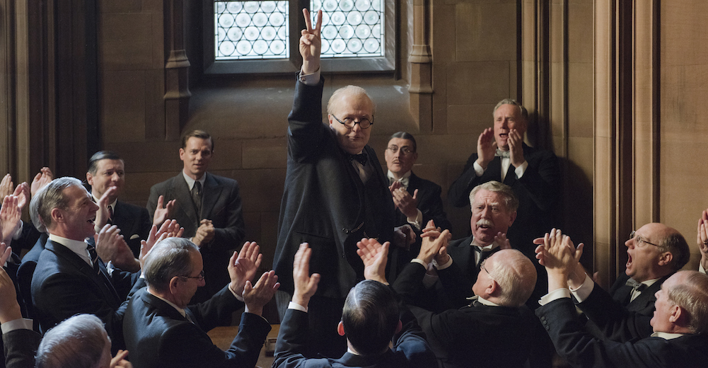 Gary Oldman Stuns as Winston Churchill in DARKEST HOUR